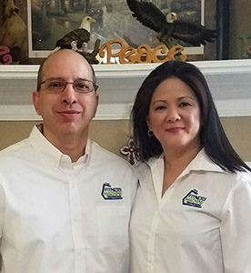 Rene and Nathalie Garcia