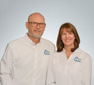 Joy & Bart Stevans, owners of FMT Northern California