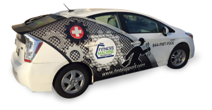 Fitness Machine Technicians Branded Prius